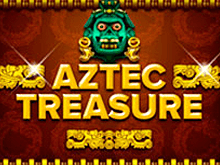 Играть в Вулкан Чемпион - слот Aztec Treasure